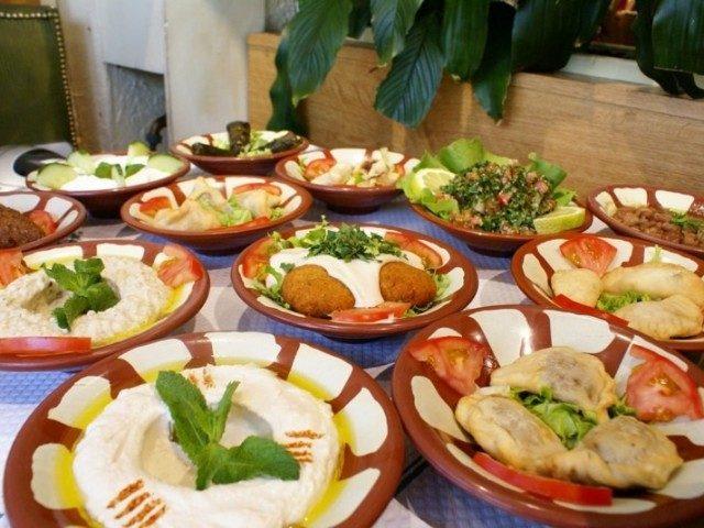 on cuisine libanaise mezze